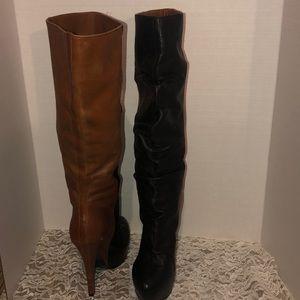 Donald Pliner DMSX JAYLA Leather TwoTone Boot